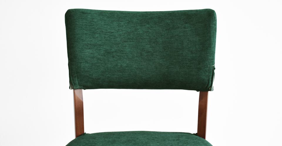 ■カバーグリーン色Xラバーウッド材ウォールナット色