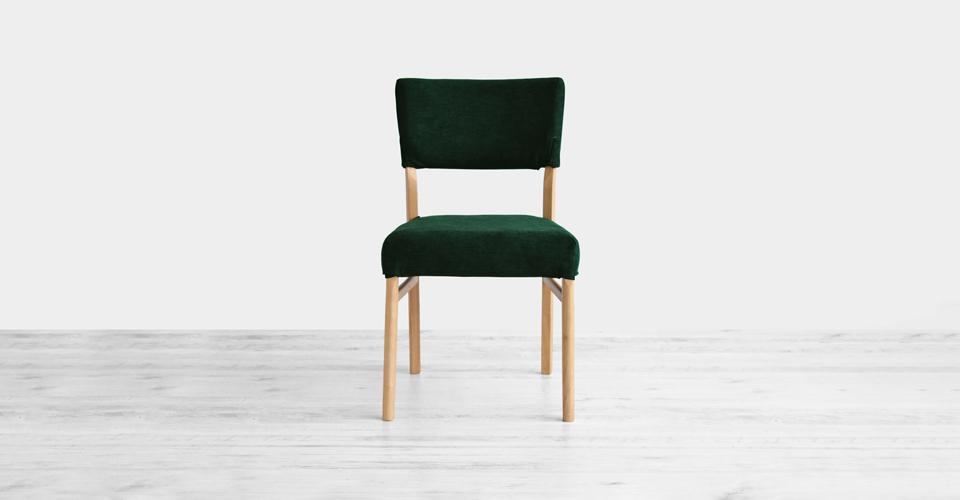 ■カバーグリーン色Xラバーウッド材ホワイトオーク色