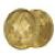 丸型ゴールド