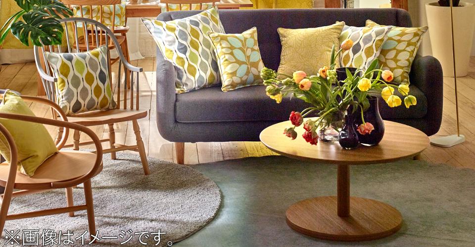 木の温もりがあふれるシンプルなリビングテーブル「リーベ」
