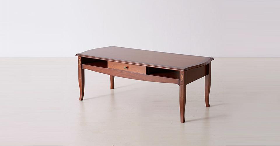 優雅なモチーフと技巧が美しいセンターテーブル「ベネチア」