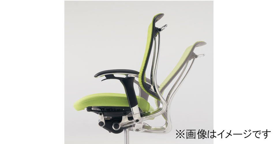 【受注生産品】コンテッサチェア CM31AB 座/メッシュ ポリッシュ/ネオブラック