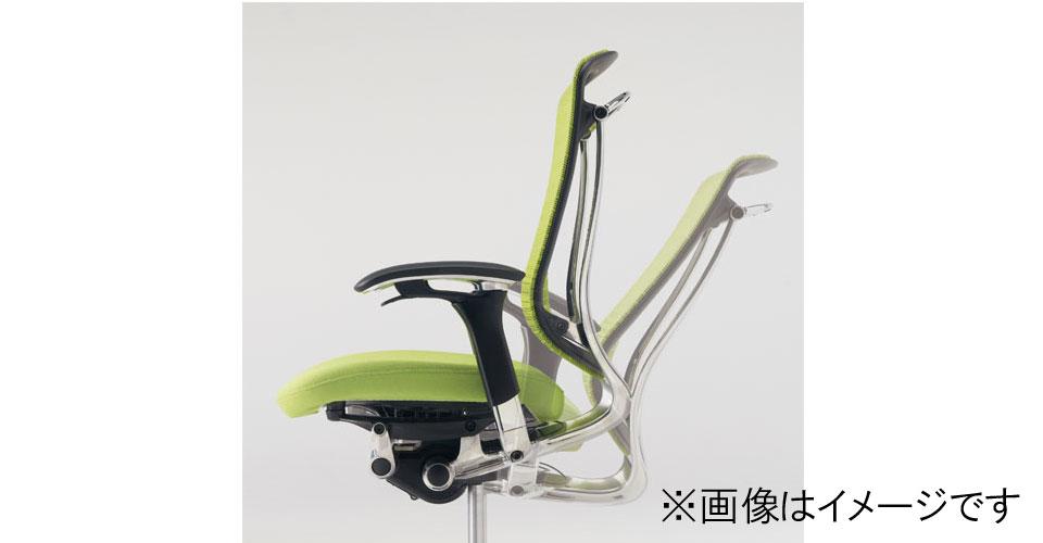【受注生産品】コンテッサチェア ヘッドレストタイプ CM51SB 座/メッシュ シルバー/ネオブラック