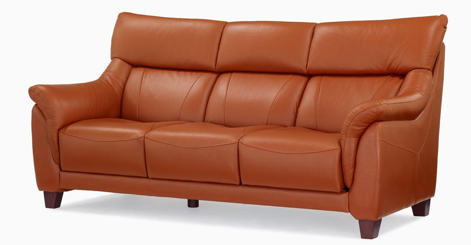 ハイバック仕様のソファ