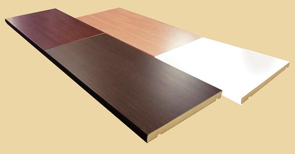 棚板ベタ芯構造