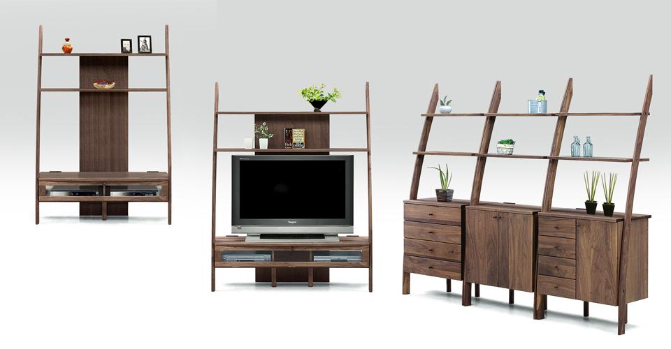 コンパクトなシンプルデザイン収納 モダンでおしゃれな空間を演出